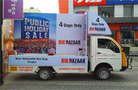 mobile van advertising in India